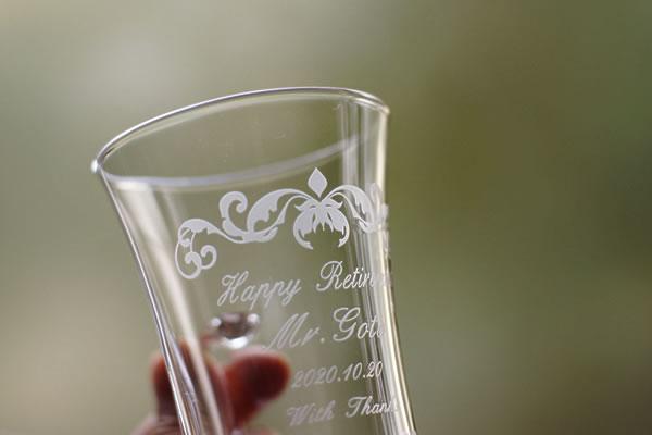 さとうガラス工房のグラス