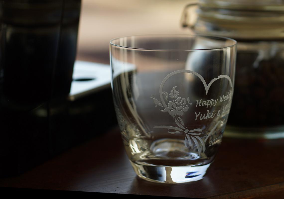 ガラスティーカップ